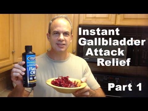 Gallbladder Attack Relief Remedy - 5 POWERFUL Recipes For INSTANT Gallbladder Attack Relief PART 1