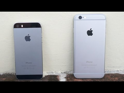 iPhone 6 vs iPhone 5s - Size does matter