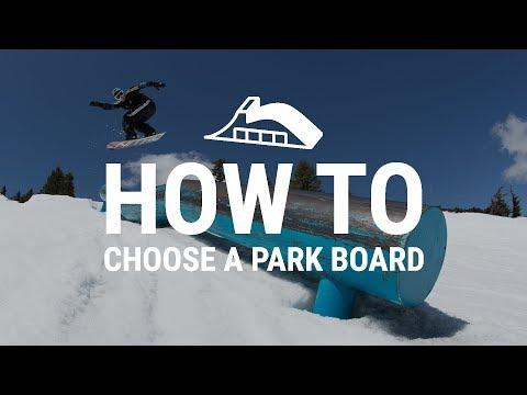 How to Choose a Park Snowboard - Tactics.com