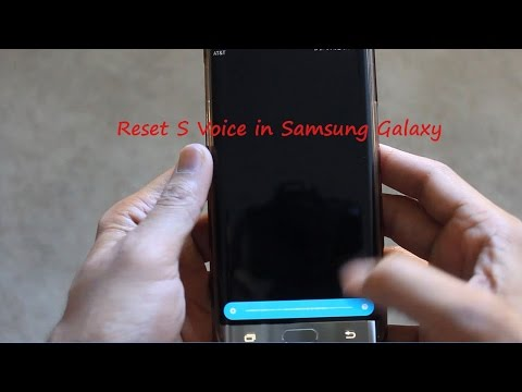 How to Reset/Delete S Voice Wake-Up Command in Samsung Galaxy