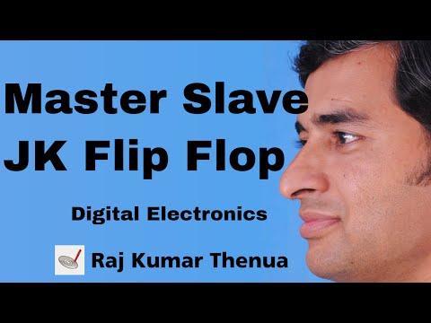 Master Slave JK flip flop | Digital Electronics by Raj Kumar Thenua | Hindi / Urdu