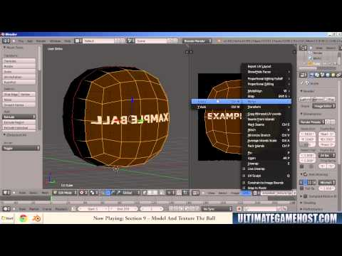 Creating a Basic Textured Model for Gmod 13 Using Blender on Windows 7