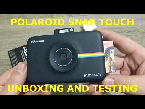 Polaroid SNAP Touch Unboxing|Testing|Printing from Smartphone