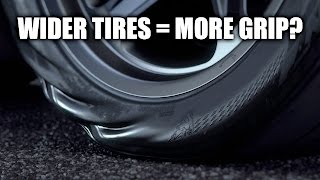 Do Wider Tires Actually Have More Grip? Testing 27 Cars