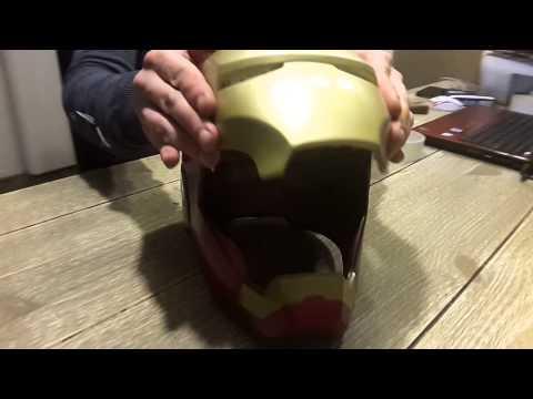 Iron man mark 3 fiberglass helmet