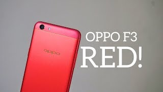 OPPO F3 Diwali Edition / Red Edition Unboxing, Hands-on