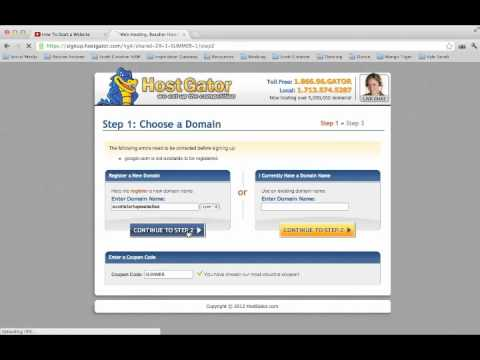 How to Get a Web Address | How to Get Your Own Web Address