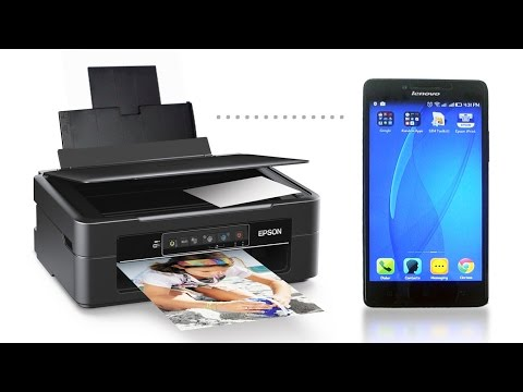 How to Print Directly from Mobile Device - Epson Xp 235 Wireless Printer