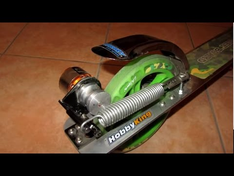 Homemade Electric scooter