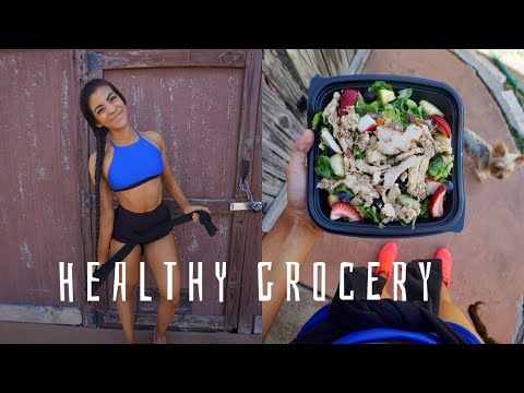 HEALTHY GROCERY HAUL + SHOULDER WORKOUT