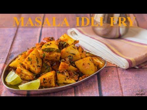 Fried Masala Idli Recipe-Masala Idli Recipe-How to make Idli Fry-Kalimirchbysmita-Ep294