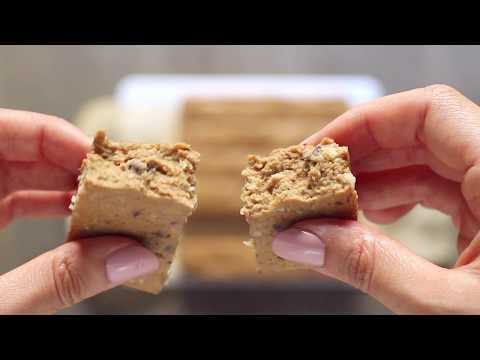 No-Bake Seven Layer Bar Protein Bars (low sugar, gluten free and vegan optional)
