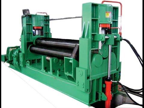 sheet metal plate cone rolling machine cone bending machine