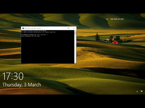 change sticky keys(sethc) into command prompt(cmd) windows 10 2017