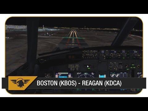 [Prepar3D v3] American Airlines AAL2149 | PMDG NGX | FULL VATSIM ATC | Boston (KBOS) - Reagan (KDCA)