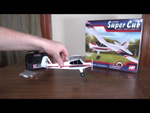 Hobby People - Micro Super Cub - Review and Flight