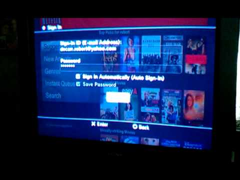 Watch Netflix without signing on to PS3