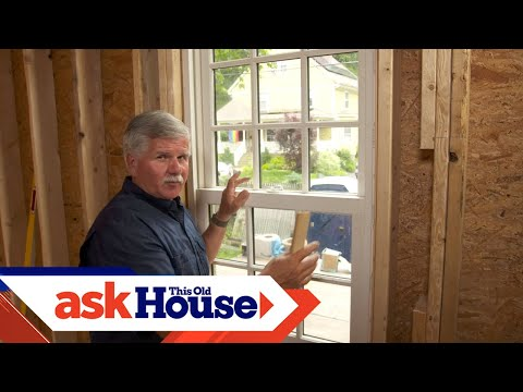 How to Straighten a Window