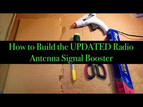 How to Build an Antenna Signal Booster
