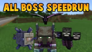 Minecraft But I Don't Stop Until All 4 Bosses Are Dead