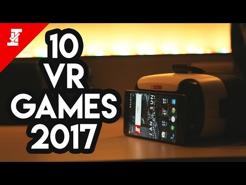 Top 10 Best Free Android VR Games 2017!