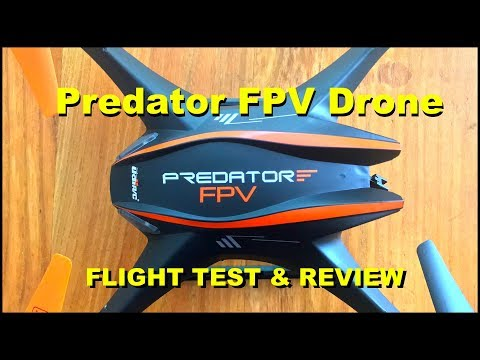 The $109 Predator FPV HD Quad-Copter Drone - Flight Test & Review!