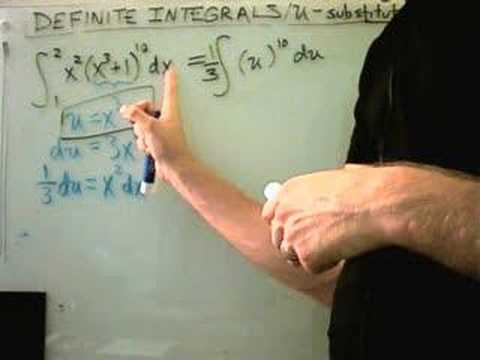 Integration by U-Substitution, Definite Integral