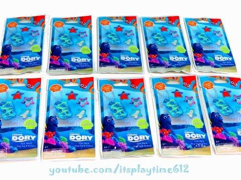 Sunday Surprise 2: FINDING DORY✔ Foil Packs Dog Tags Hank Nemo Marlin Destiny | itsplaytime612