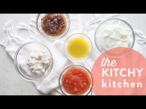Edible Face Masks // The Kitchy Kitchen