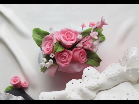 How to Make Quick and Easy Fondant Roses and Filler Flowers | No Cutters