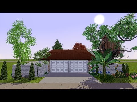 The Sims 3 LIVE! Building a Bunker House - Part 8 (Finally Building the Bunker!)