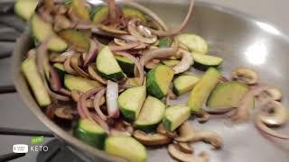 Green Chef Chicken Fajita Salad - Keto, Paleo, Gluten Free