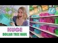 HUGE DOLLAR TREE HAUL! 💚 Organizing Ideas, DIYs, Spring 2017