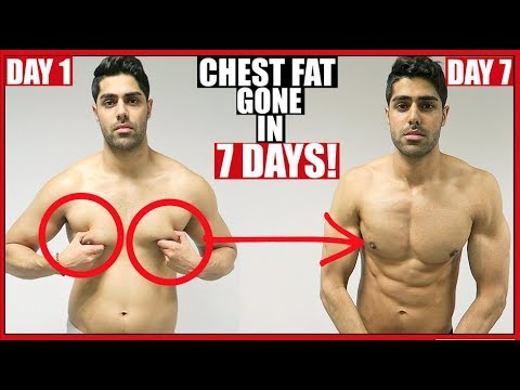 How To Reduce CHEST FAT In 1 Week - 100% WORKS!!
