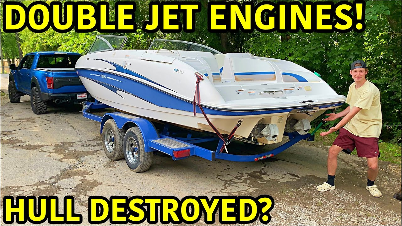 Rebuilding A Wrecked Jet Boat!!!