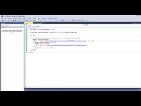 Visual Basic 2008-2013: Create a 'Check for Updates' Function Using an API/DLL