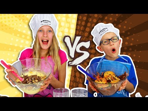 VANILLA vs. CHOCOLATE CAKE CHALLENGE!