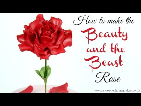 How To Make The Beauty and the Beast Rose