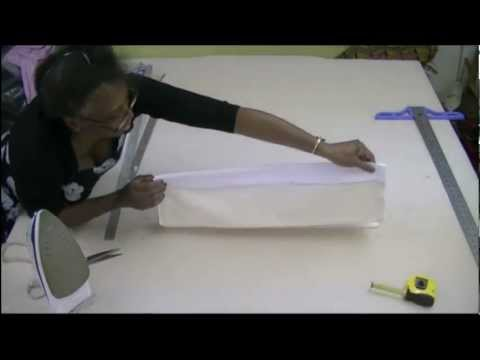 How to make a Dummy Roman Blinds