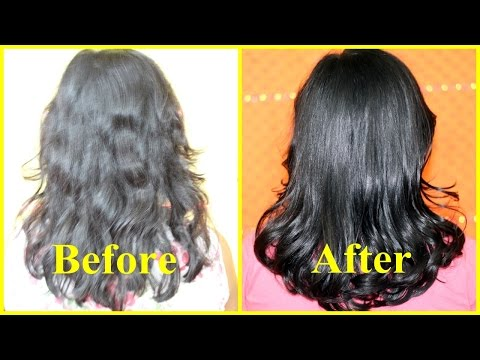 Instant HAIR SERUM for SUPER Glossy Shiny Hair in 1 min/ Homemade Natural Hair Serum