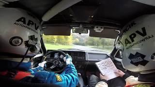 Onboard Rally Vsetín 2017 RZ6 Petr Vraj-Jan Mikulík Škoda Favorit 136L
