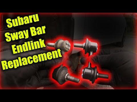 Subaru Sway Bar Endlink Replacement
