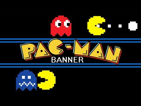 Pac-Man - Animated Banner