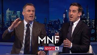 Jamie Carragher and Gary Neville debate Jordan Henderson's best position   MNF