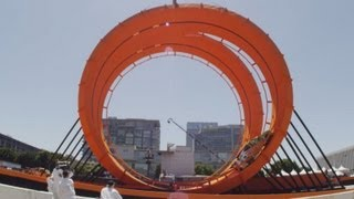 World Record: Hot Wheels Double Loop Dare at the 2012 X Games Los Angeles