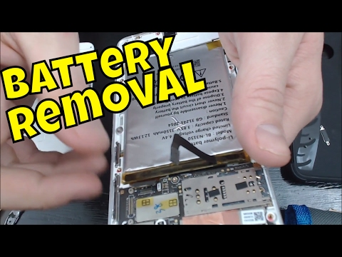 How to remove/replace the battery in a Blu Vivo 5