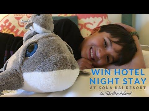 Win Free Hotel Night Stay in Kona Kai Resort Shelter Island