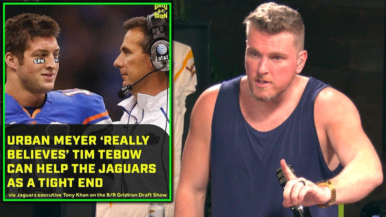 Pat McAfee Reacts Jaguars Saying Tim Tebow Can Be A Good Tight End