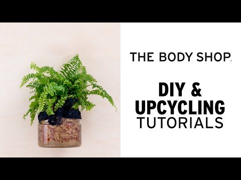 How To: DIY Self-Watering Plant Pot - The Body Shop
