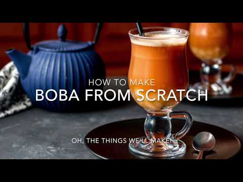 How to Make Boba Tapioca Pearls From Scratch